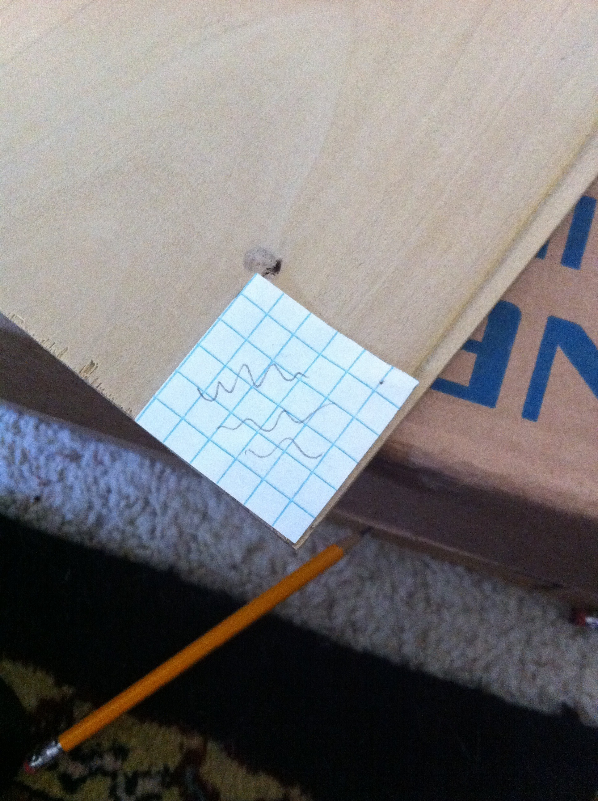 Picture of Tracing Onto the Wood