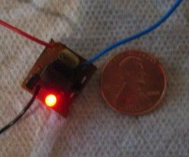 World's Smallest Electronic Shocker w/LED-PCB Mounted