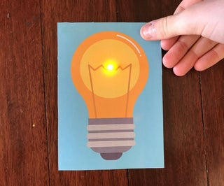 Light Up LED Cards