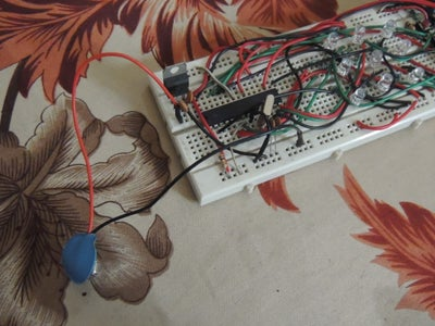 Attaching the LEDs and the Switches..