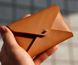 A Simple Leather Card Case