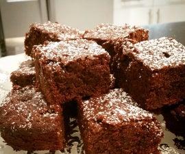 Vegan Double Chocolate Brownies! The best!