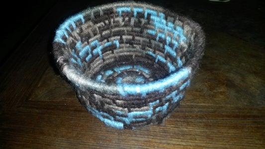 Step Five- Finishing Basket
