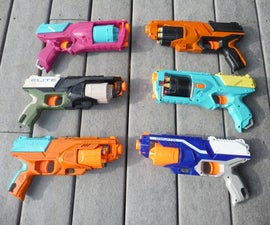 Nerf Mod Party