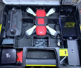 Drone Hard Case With Charger