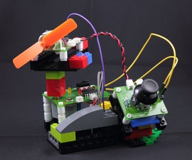 Build a Fan with LEGO and faya-nugget