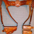 Tandy Leather - Shoulder Holster Made With Basic Tools