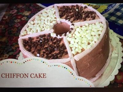 BAKE CHIFFON CAKE