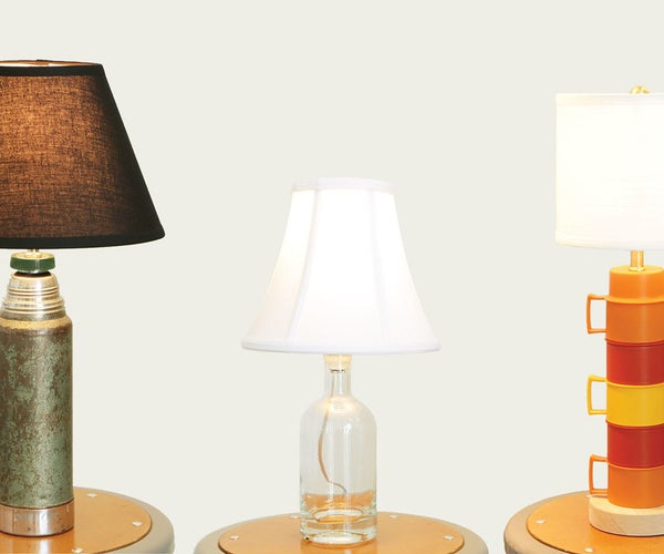 3 Ways to Make Table Lamps