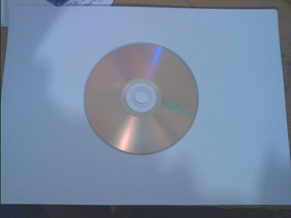 Simple Paper CD/DVD Case
