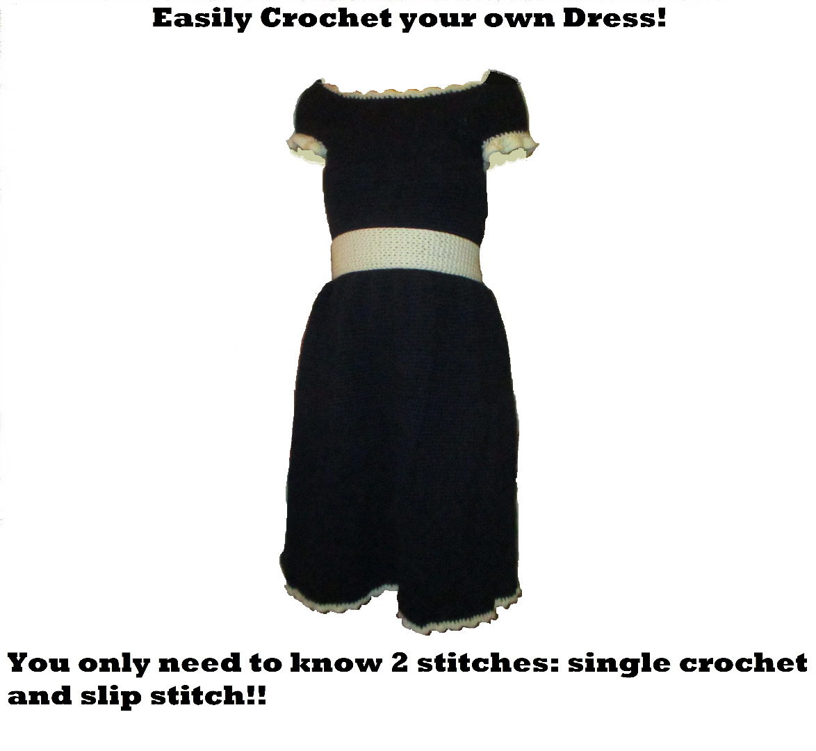 Picture of Beginners 2 Stich Crochet Dress