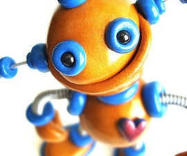 Robot Sculptures, sometimes Jiggly Wiggly always awesome