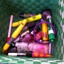 How To Get A Basket Full Of Stuff Organized