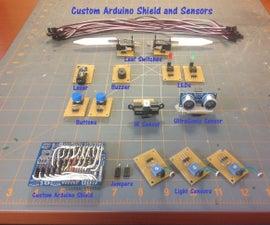 Custom Arduino Shield and Sensors
