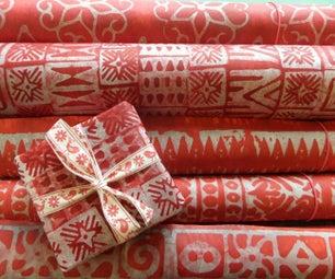 Batik Xmas Wrapping Paper