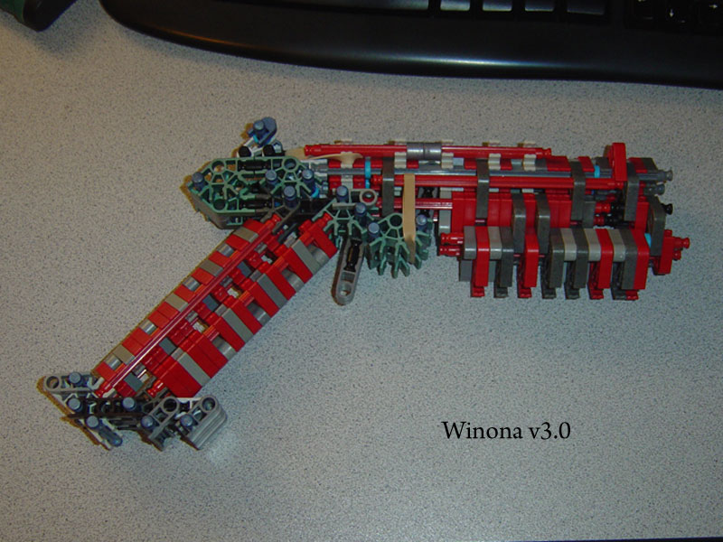 Picture of K'nex Pistol: Winona V3.0