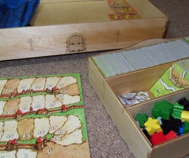 Themed Carcassonne Storage Chest