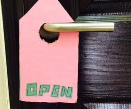 DIY : Door Tags