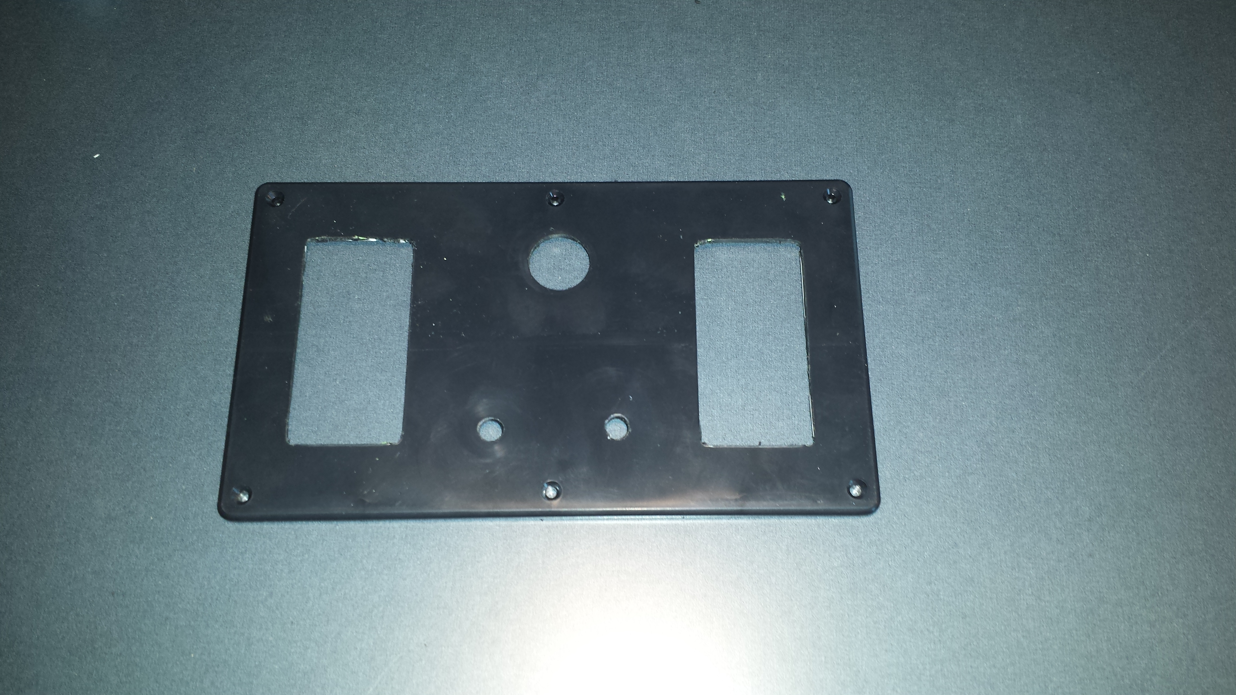 Picture of Prepping Faceplate