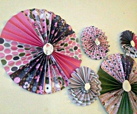 Pinwheel Wall Decor