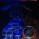 Multi Layer/ Color LED Sign, Bioshock Themed