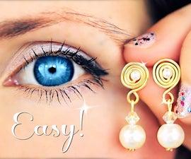 3 Super Easy Earrings!   Earrings DIY