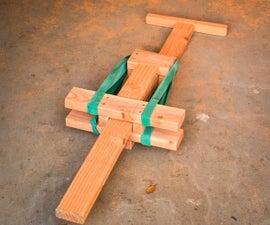Pogo Stick from 2x4s