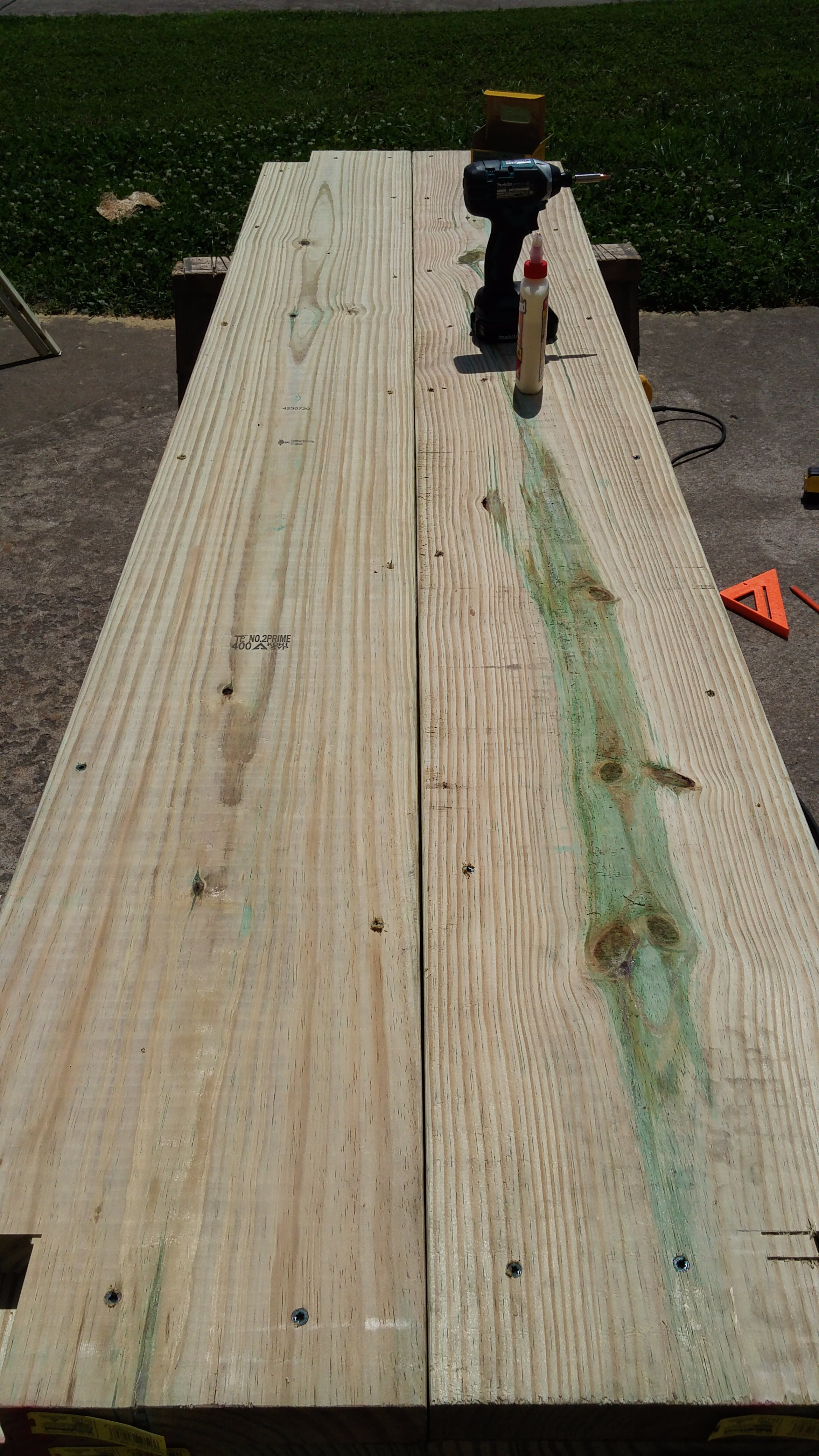 Picture of Building the Tabletop