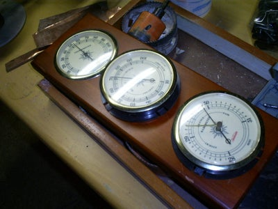 The Airship Captains Desk Lamp