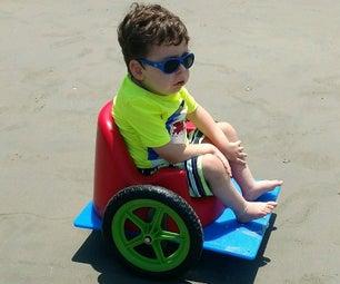 DIY Bumbo Wheelchair for Kids