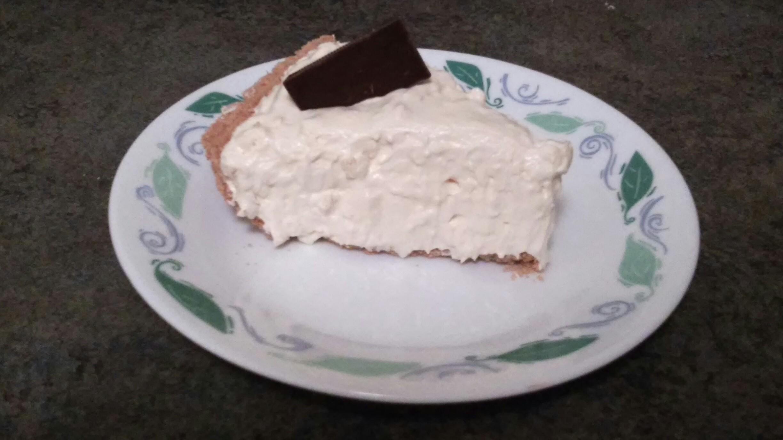 Picture of No Bake Eggnog Pie