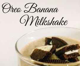 Oreo Banana Milkshake