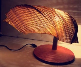 """The $1 Lamp called """"Bamboo Work"""""""