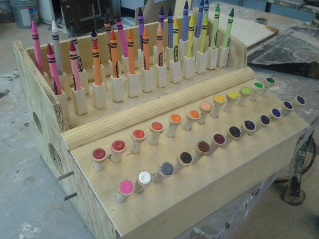 Picture of Now You Have a Crayon Machine!