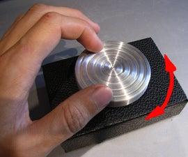Computer scroll wheel, bearings version