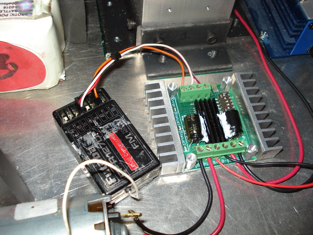 Picture of Main Electronics