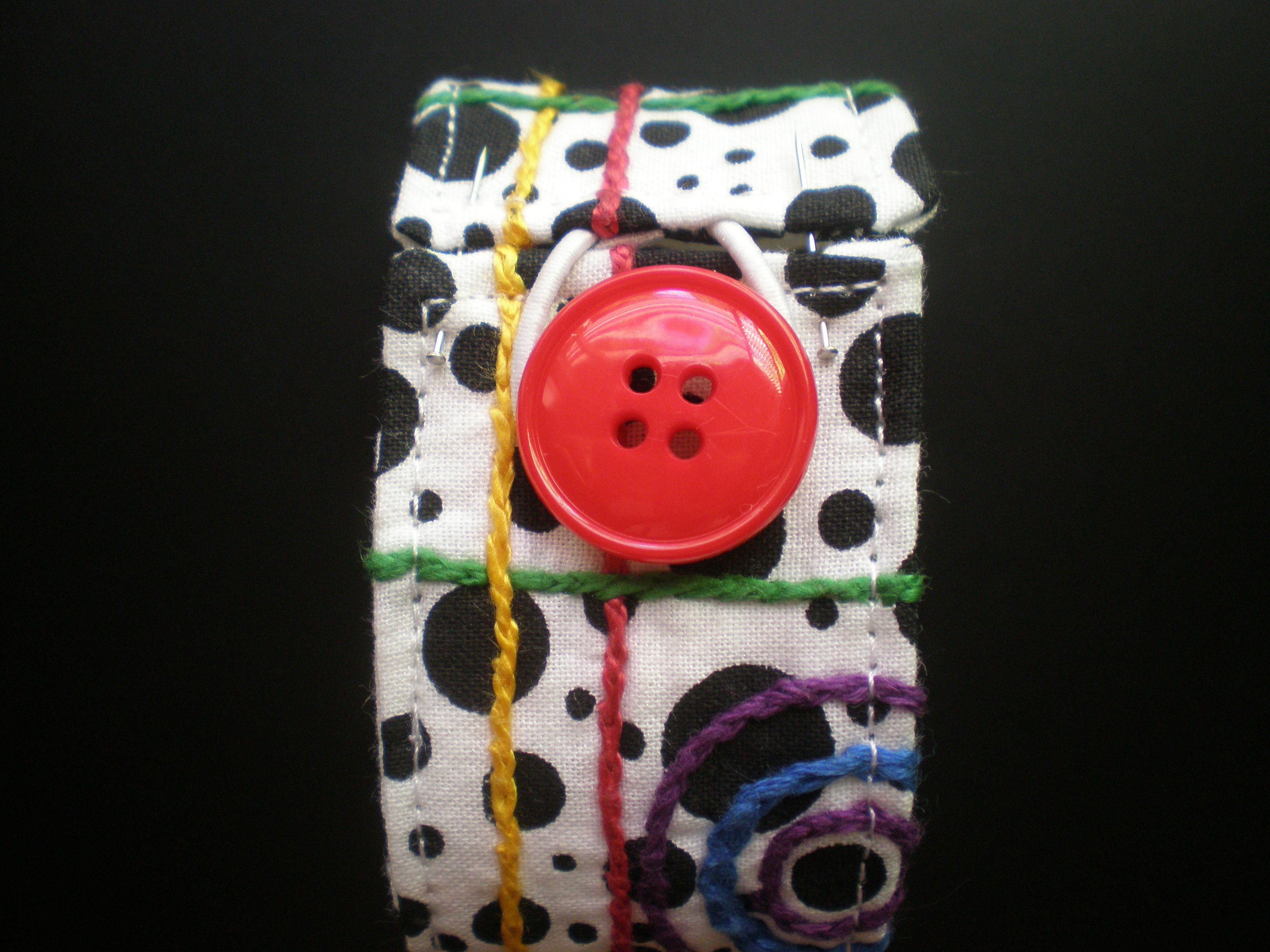 Picture of Sew on the Button and You're Done!