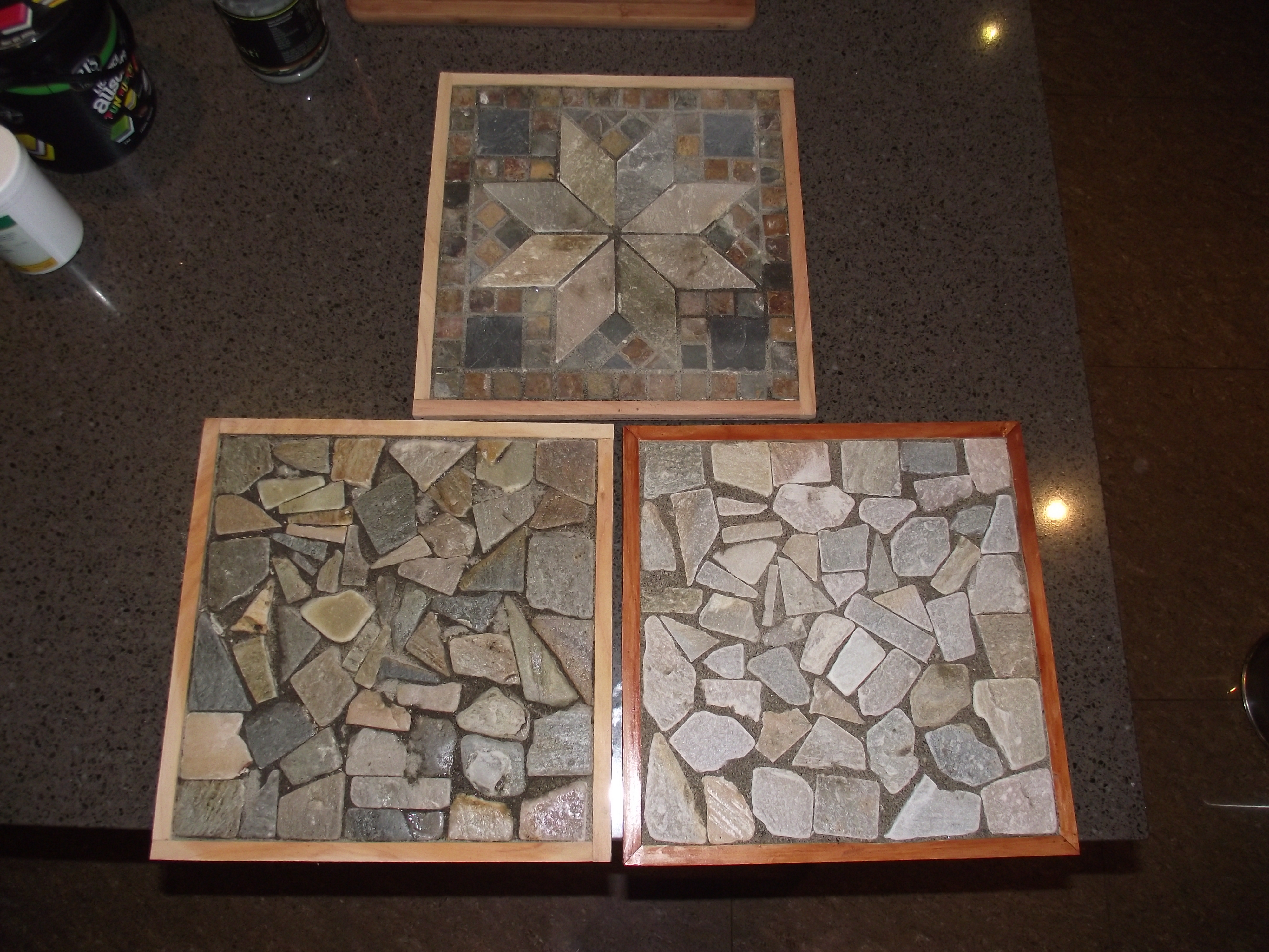 Picture of Mosaic Tile Trivets or Pot Stands