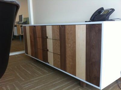 Techshop Built Cabinet (Walnut, Maple, Mahogany, Cherry)