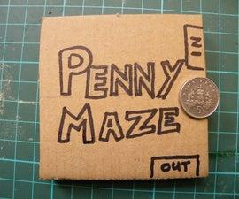 Penny Maze: the slideshow.