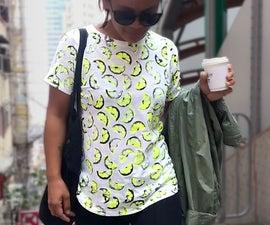 Lemon Print Shirts