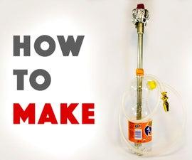 HOW TO MAKE HOOKAH AT HOME (DIY)