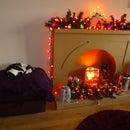 Christmas Fake Fireplace