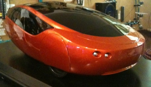 Picture of Urbee Hybrid is first 3d-printed car
