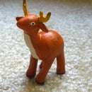 Quick n Easy Polymer Clay Reindeer