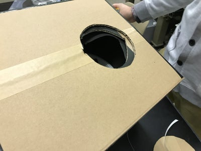 A Hole for Inserting a Head