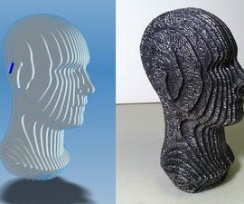 Slice-form Metal Casting from Digital 3D Model
