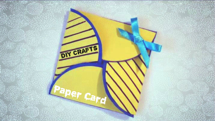 Picture of  DIY Crafts - Simple Paper Card