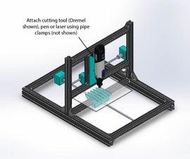 Modular DIY CNC Machine for ~$300