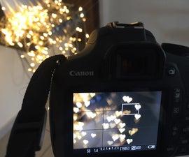 Photography Bokeh Filter Hack DIY